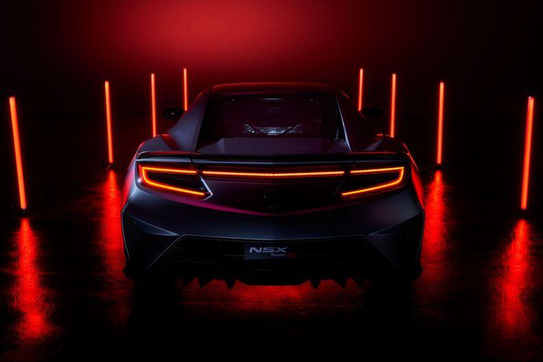 NSX supercar