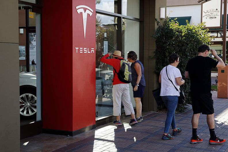 Tesla stores