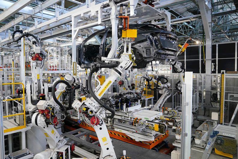 Nissan intelligent plant