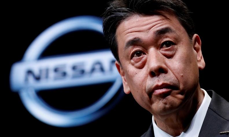 Nissan CEO Uchida rtrs web.jpg