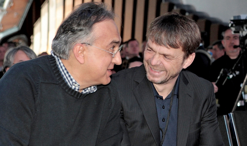 Sergio Marchionne and Mike Manley