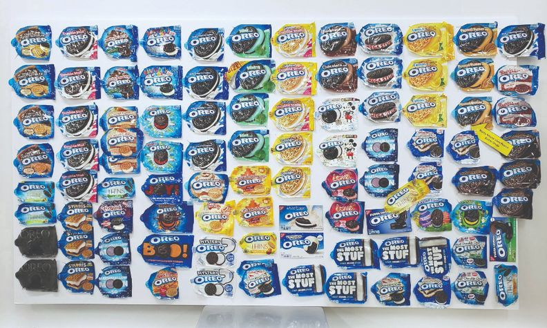 Ford Maverick development team members kept a visual reminder of all the packs of Oreos they consumed.