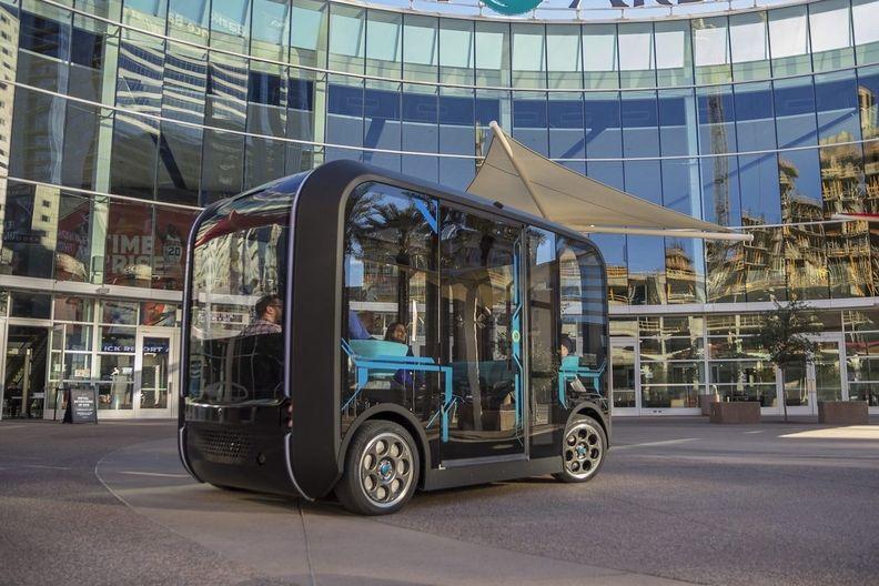 Olli autonomous shuttle