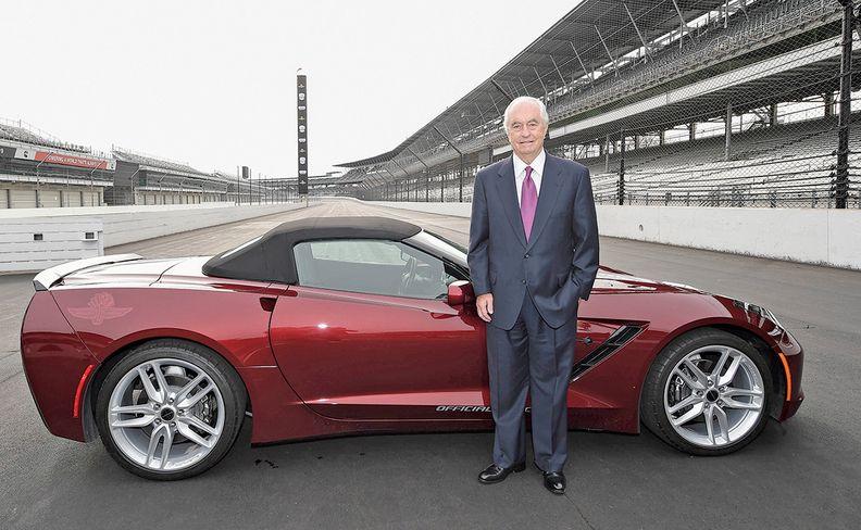 Roger Penske at the Indy 500