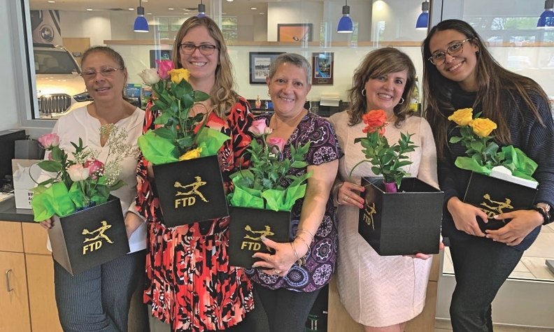 BMW of Greenwich in Connecticut celebrates moms during Women's Wellness Week.