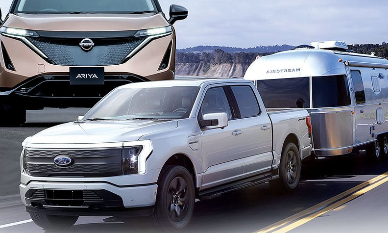 Upcoming EVs such as the Ford F-150 Lightning are attracting new shoppers, Plug In America says.