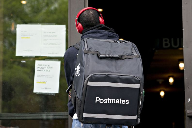 Postmates delivery driver