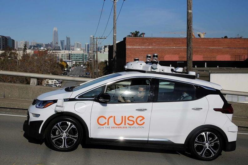 A Cruise self-driving car