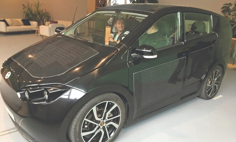 Sono Motors' Sion will have solar panels embedded in the roof and sides of the vehicle. Expected range is about 158 miles.