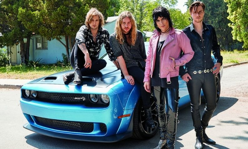 The Struts rock band performed during FCA's #MusicMonday series on Facebook in April.