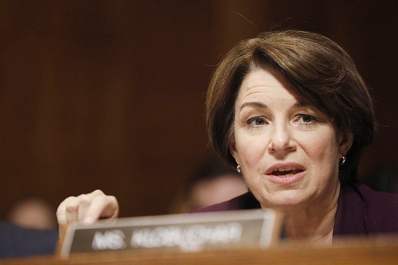 """Sen. AmyKlobucharsaid the DOJinquiry """"appears to have less to do with protecting competition than with intimidating parties that don't fall into line with the Trump administration's plan to relax emissions standards."""""""