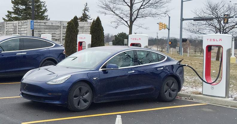 Tesla recharge