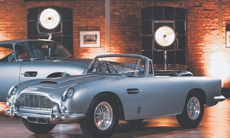 For a cool $46,700, you can snag a DB5 Junior, front, which is two-thirds the size of the original car.