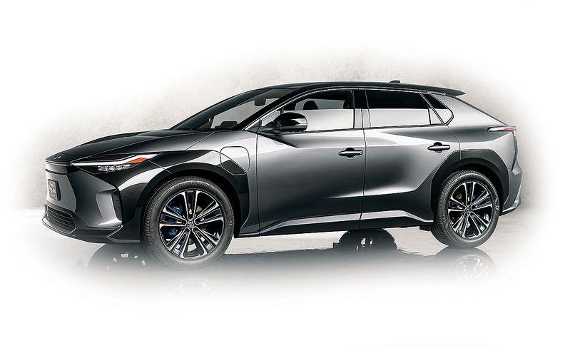 Toyota bZ4X concept exterior