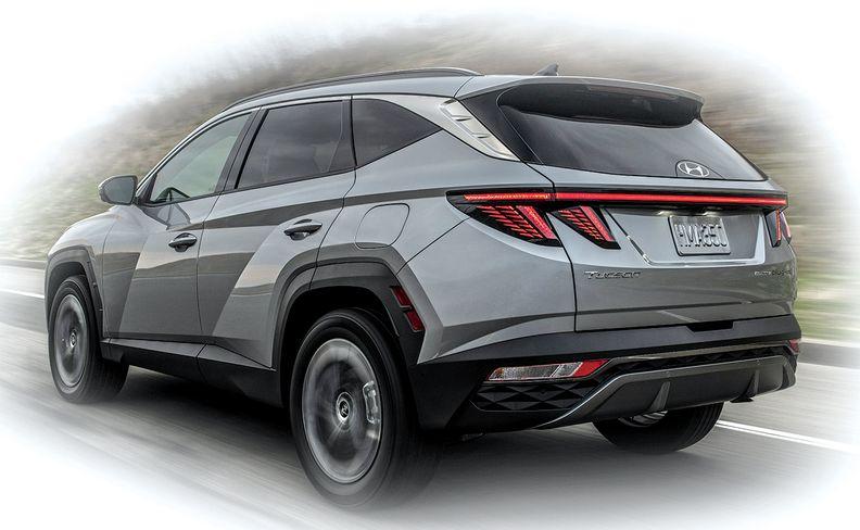 Hyundai Tucson rear quarter