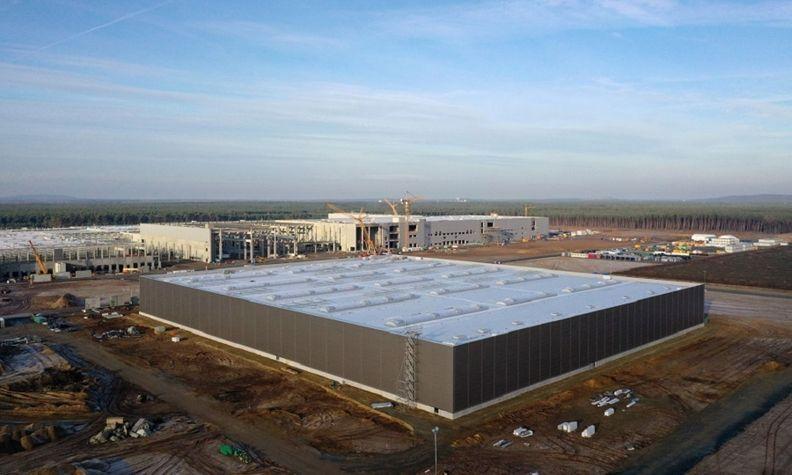 Tesla's Berlin factory