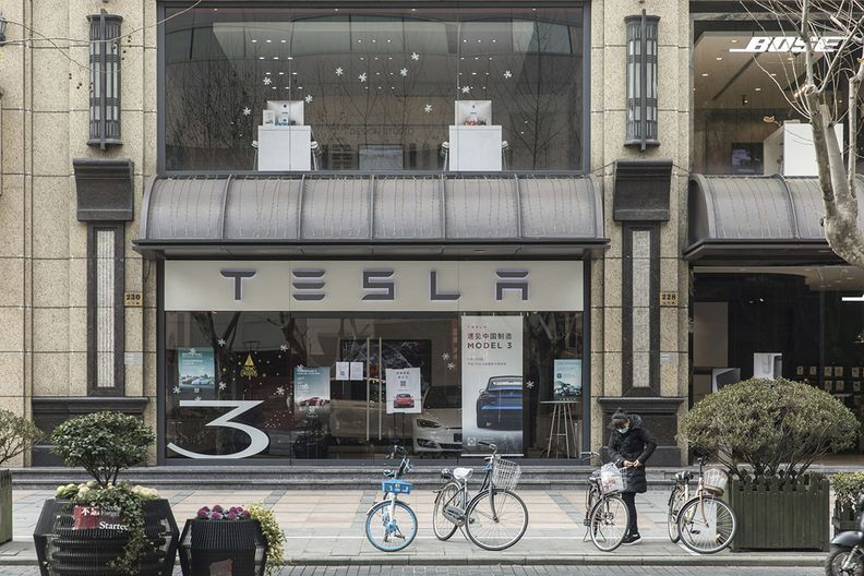 Tesla China sales falter as more vehicles shipped to Europe
