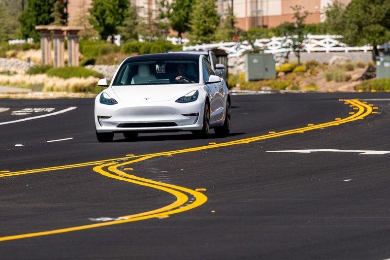 Tesla during testing Bloomberg.jpg