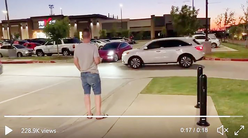 Several users have posted videos to social media showing near misses or minor accidents using Tesla's Smart Summon feature.