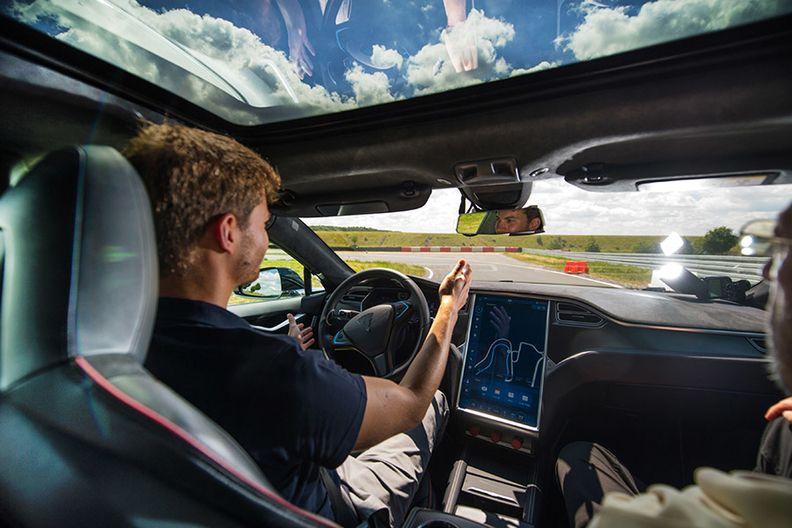 Tesla Full Self Driving system
