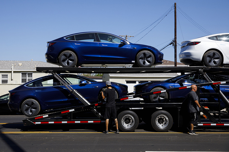 Analysts on average expect Tesla to report a loss of 31 cents a share, smaller than the 48-cent loss estimate a month ago, according to data compiled by Bloomberg.