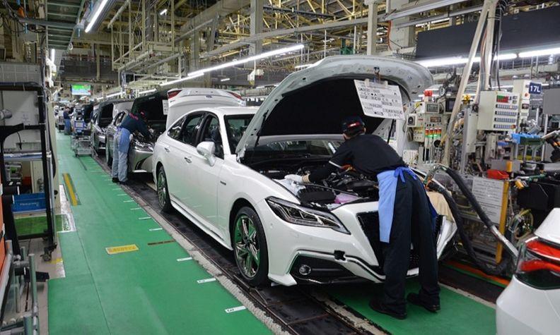 Toyota Motomachi plant production