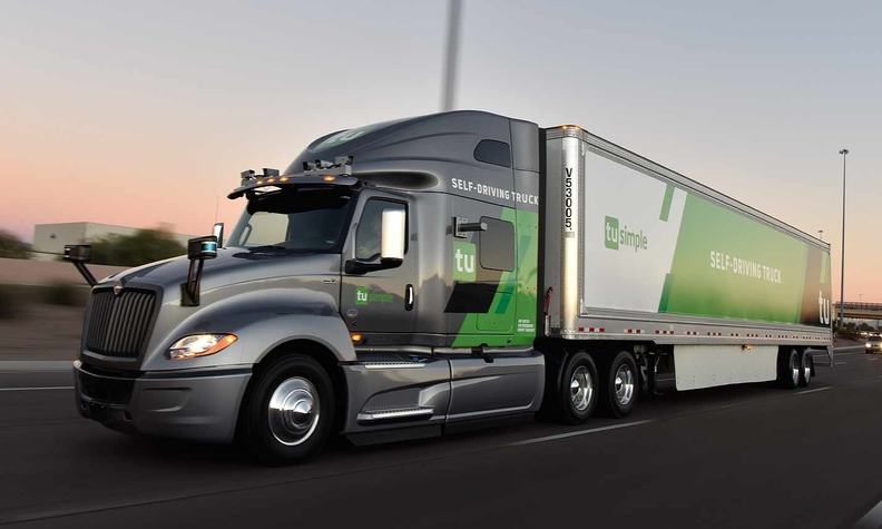 Postal Service tests mail shipments on self-driving trucks