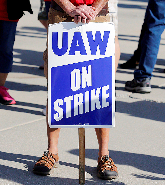 More than 46,000 hourly workers at General Motors plants have been on strike since Sept. 16 after the automaker and the UAW failed to reach a new labor agreement before their previous contract expired.