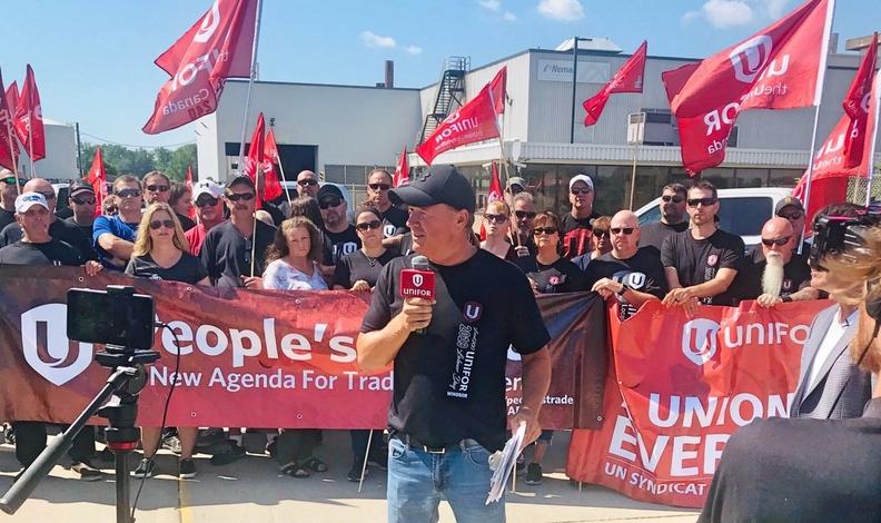 Judge orders Unifor members back to work at Windsor Nemak