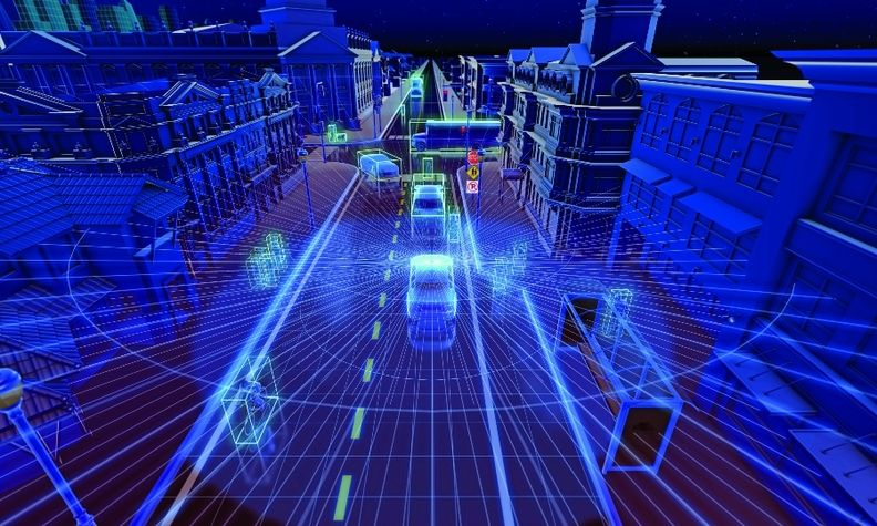Velodyne's pedestrian automatic emergency braking system uses lidar and software to interpret lidar data.