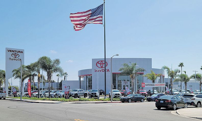 """Rob van Nieuwburg, business relations director at Ventura Toyota in California, disagrees with buyback restrictions. """"What about the consumer?"""" he asked."""