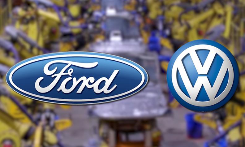 Ford VW logos