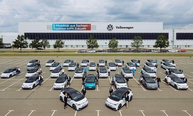 VW ID3 Zwickau
