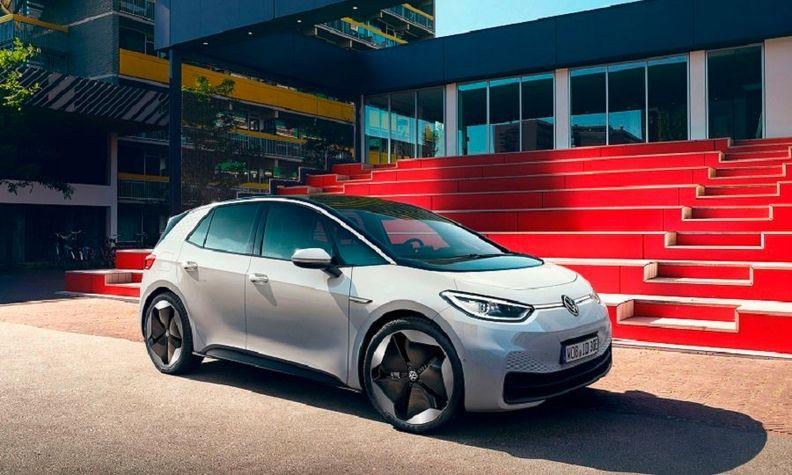 The VW ID3 electric car