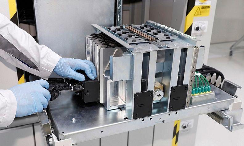 VW battery production in Salzgitter