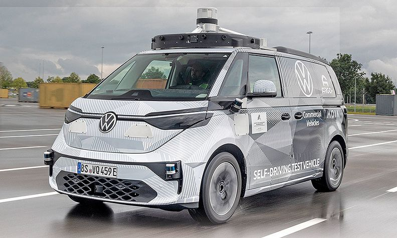 VW and Argo AI are piloting autonomous ride-sharing in Germany with special versions of the upcoming ID Buzz.