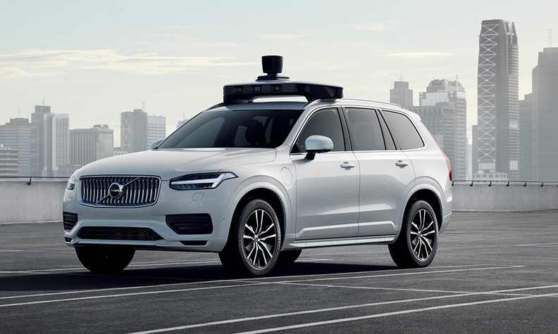 Volvo, Uber reveal production-ready, autonomous auto