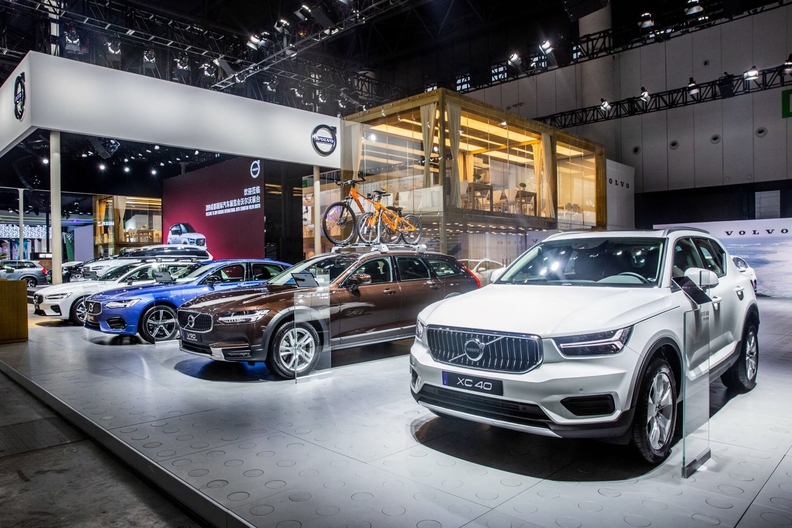Volvo Posts Double Digit Sales Gain For 2nd Straight Month