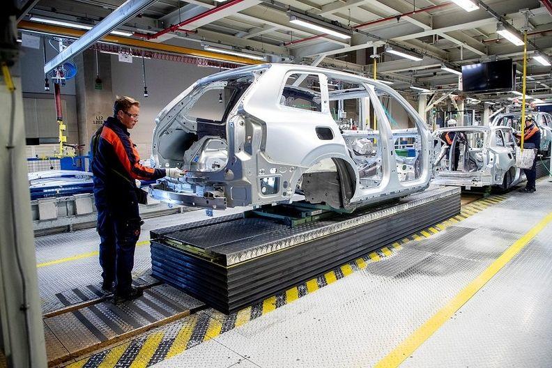 Volvo factory Torslanda, Gothenburg