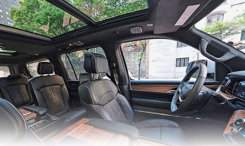 The 2022 Jeep Grand Wagoneer brings new levels of craftsmanship and comfort to the brand.