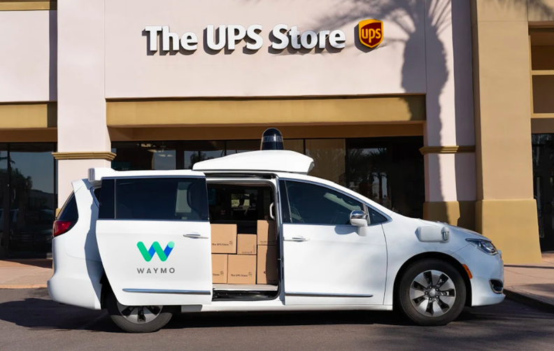 Waymo and UPS