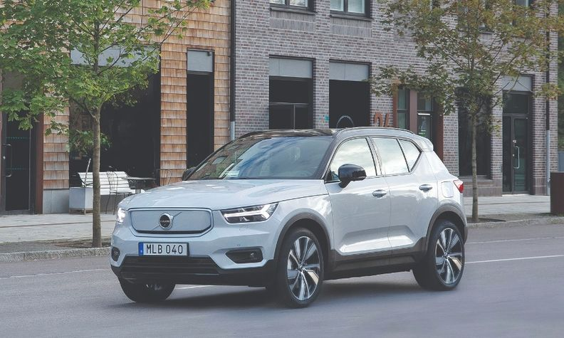 XC40 Recharge P8 still in launch mode