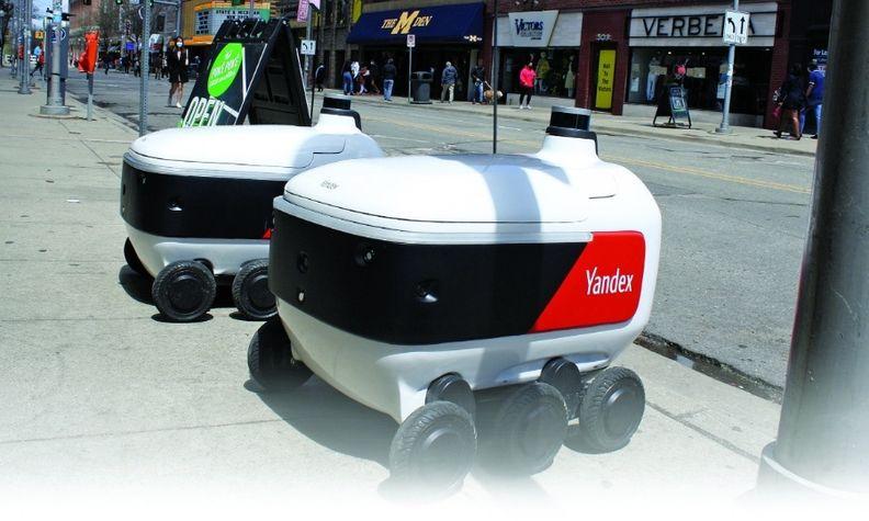 asumetech.com - John Mahon - Autonomous robots deliver in college town