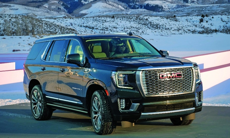 The redesigned GMC Yukon