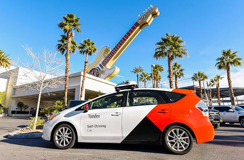 Yandex will work with Hyundai Mobis and Lawrence Technological University in Southfield to deploy a fleet of automated taxis operating with fixed stops during the 2020 Detroit auto show.