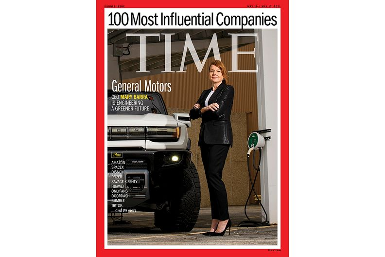 Time names GM, VW, Tesla among top 100 most influential companies