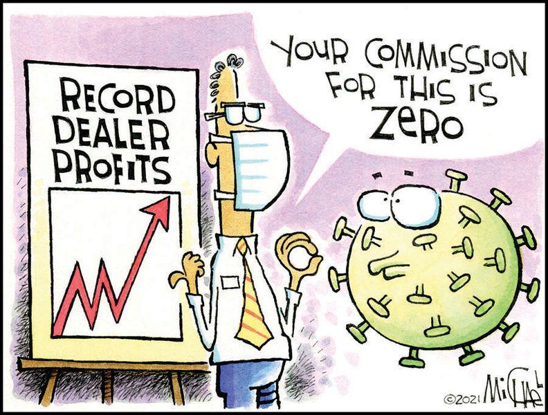 Record Dealer Profit - Leo Michael