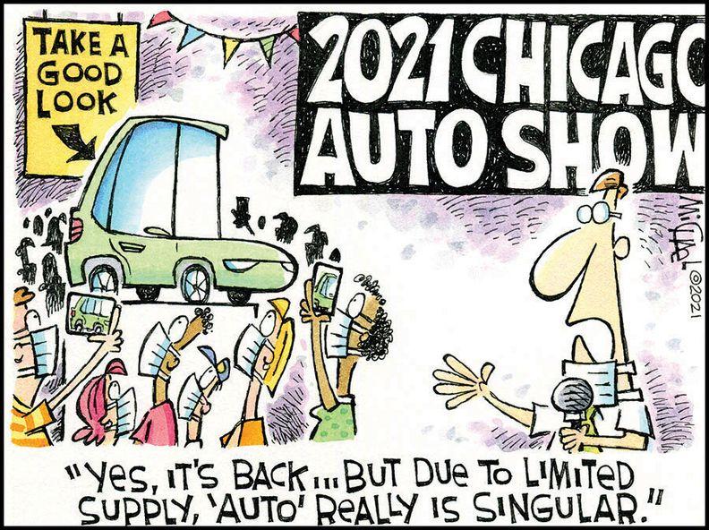 Chicago Auto (singular) Show