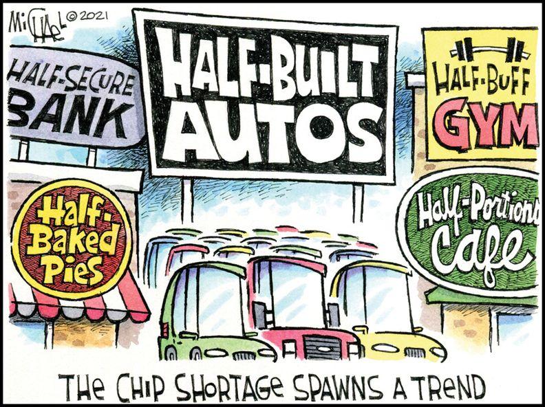 Half-built autos