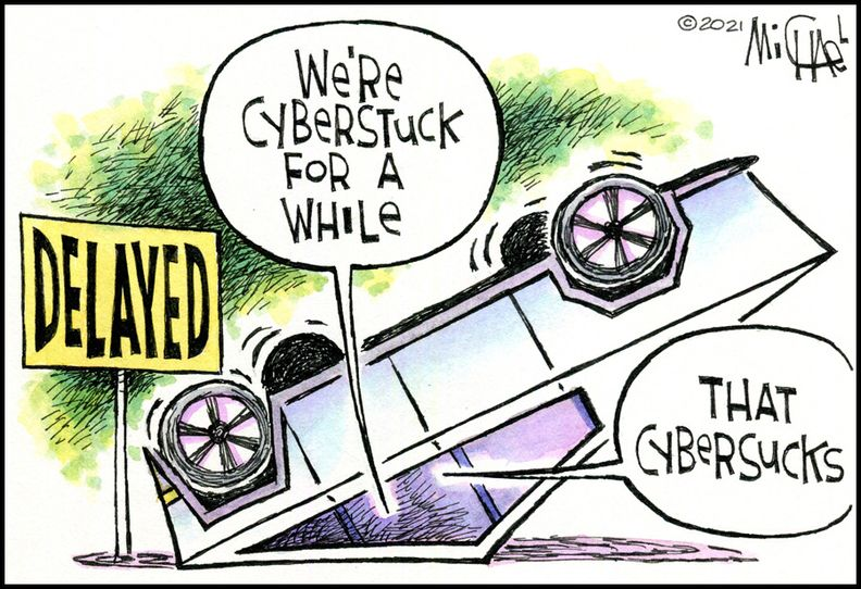Cyberstuck for a while -- Leo Michael